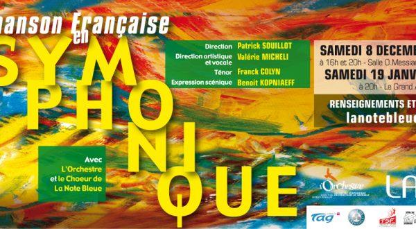 La Chanson Française en Symphonique – de Déc. 18 à Jan. 19