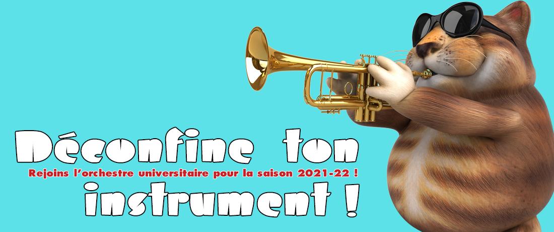 L'Orchestre recrute pour la nouvelle saison 2021-2022 !